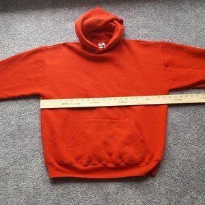 jerzees super sweats size XL red men hoodie